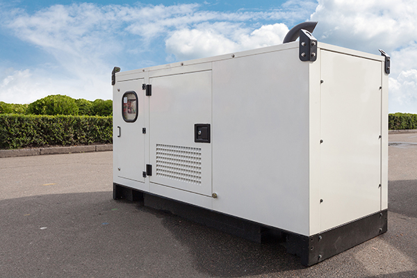 Mobile diesel generator for emergency electric power